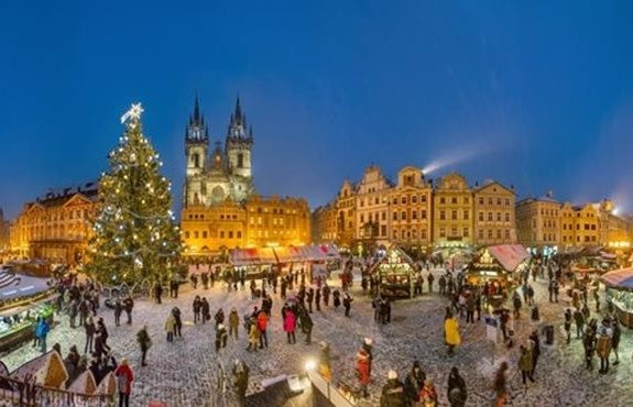 Новый Год в Праге 2020